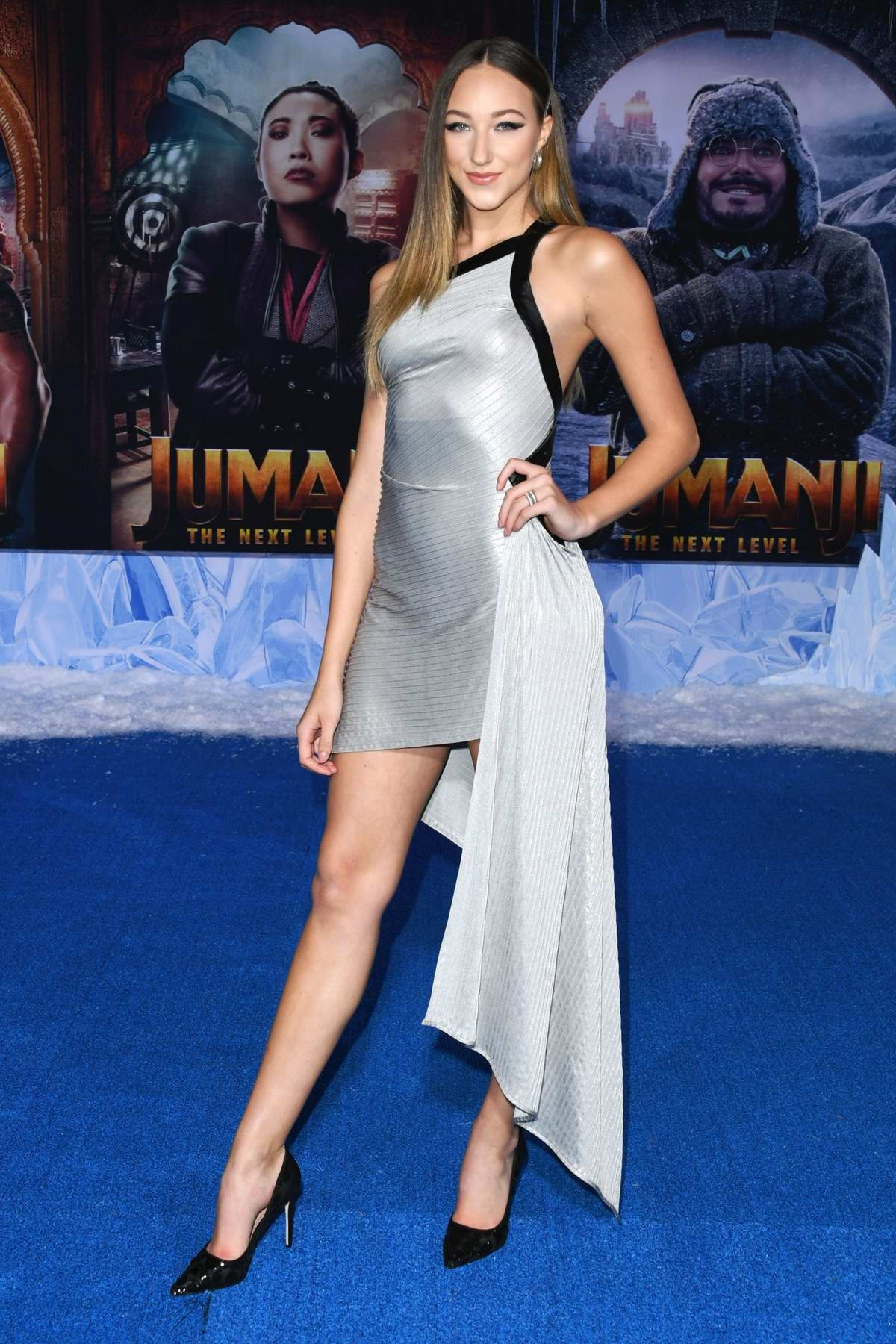 Ava Michelle attends the Premiere of 'Jumanji: The Next Level' at TCL Chinese Theatre in Hollywood, California