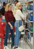 Ava Phillippe and Reese Witherspoon step out for some Christmas shopping at Target in Westwood, California