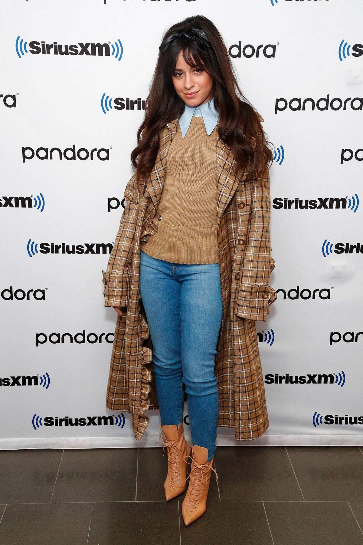 Camila Cabello visits SiriusXM Studios in New York City