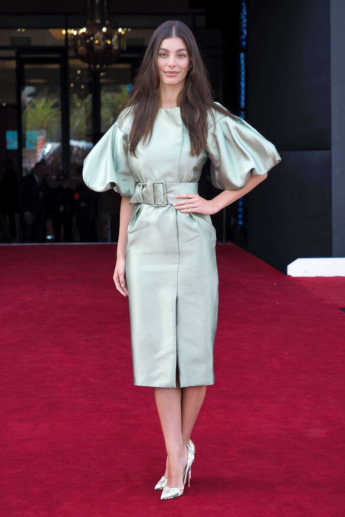 Camila Morrone attends the Premiere of 'Mickey and the Bear' during 18th Marrakech International Film Festival in Marrakesh, Morocco