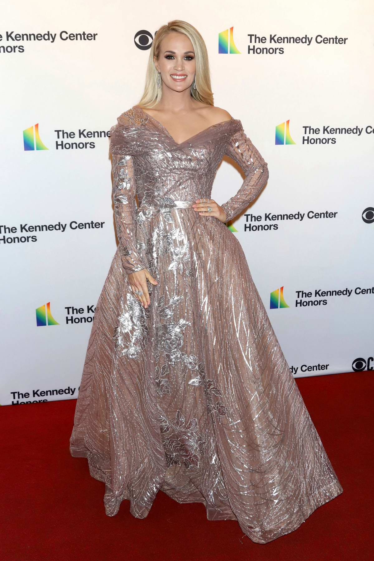 Carrie Underwood attends the 2019 Kennedy Center Honors at The Kennedy Center in Washington, D.C.
