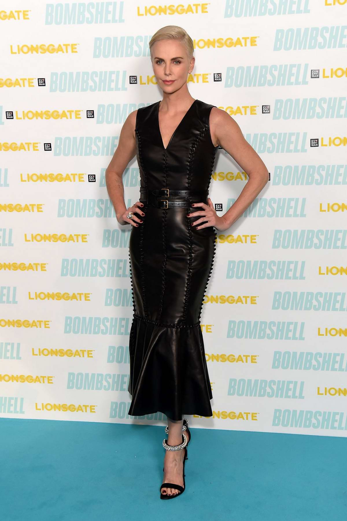 Charlize Theron attends a special BAFTA Q&A for 'Bombshell' at the Everyman Broadgate in London, UK