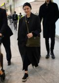 Chloe Grace Moretz spotted as she touches down at Heathrow airport in London, UK