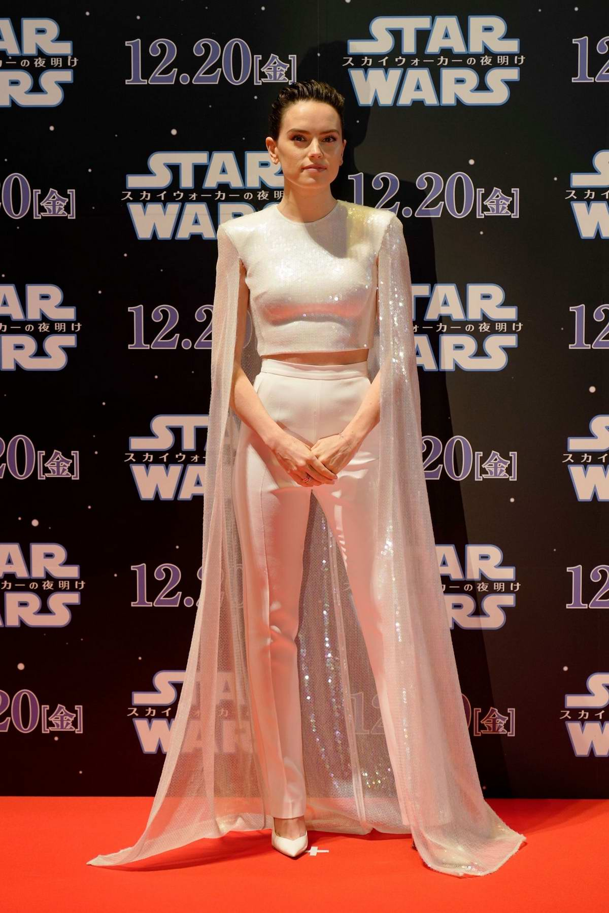 Daisy Ridley attends 'Star Wars: The Rise of Skywalker' special fan event in Tokyo, Japan