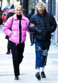 Dua Lipa steps out for a stroll with Anwar Hadid in New York City