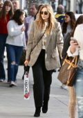 Elizabeth Olsen looks great in a blazer as she steps out for some shopping in Beverly Hills, California
