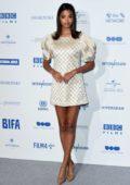 Ella Balinska attends the British Independent Film Awards 2019 at Old Billingsgate in London, UK