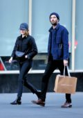 Emma Stone and Dave McCary step out for some shopping in New York City