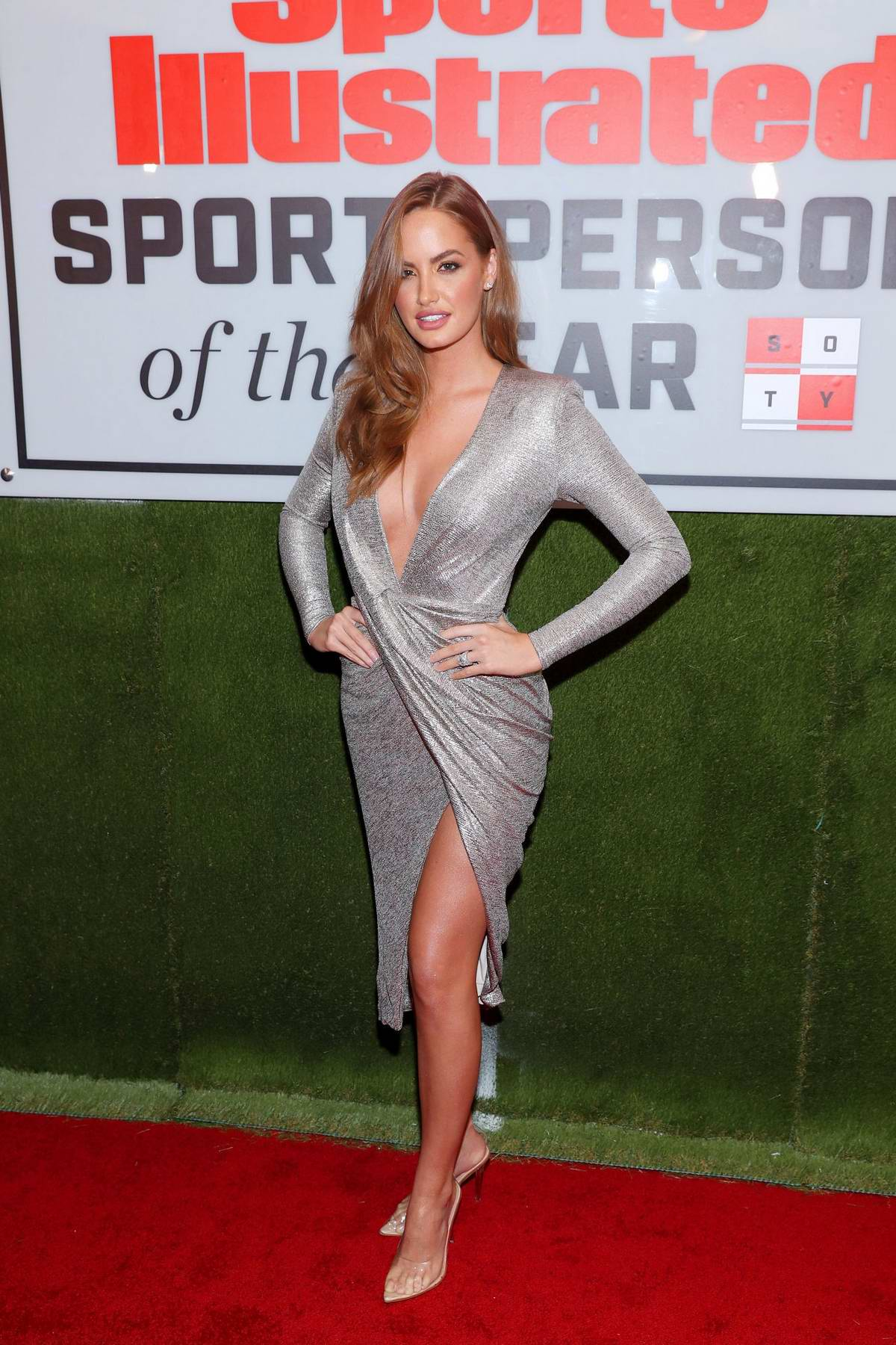 Haley Kalil attends the 2019 Sports Illustrated Sportsperson of the Year in New York City