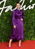 Hayley Atwell attends The Fashion Awards 2019 held at Royal Albert Hall in London, UK