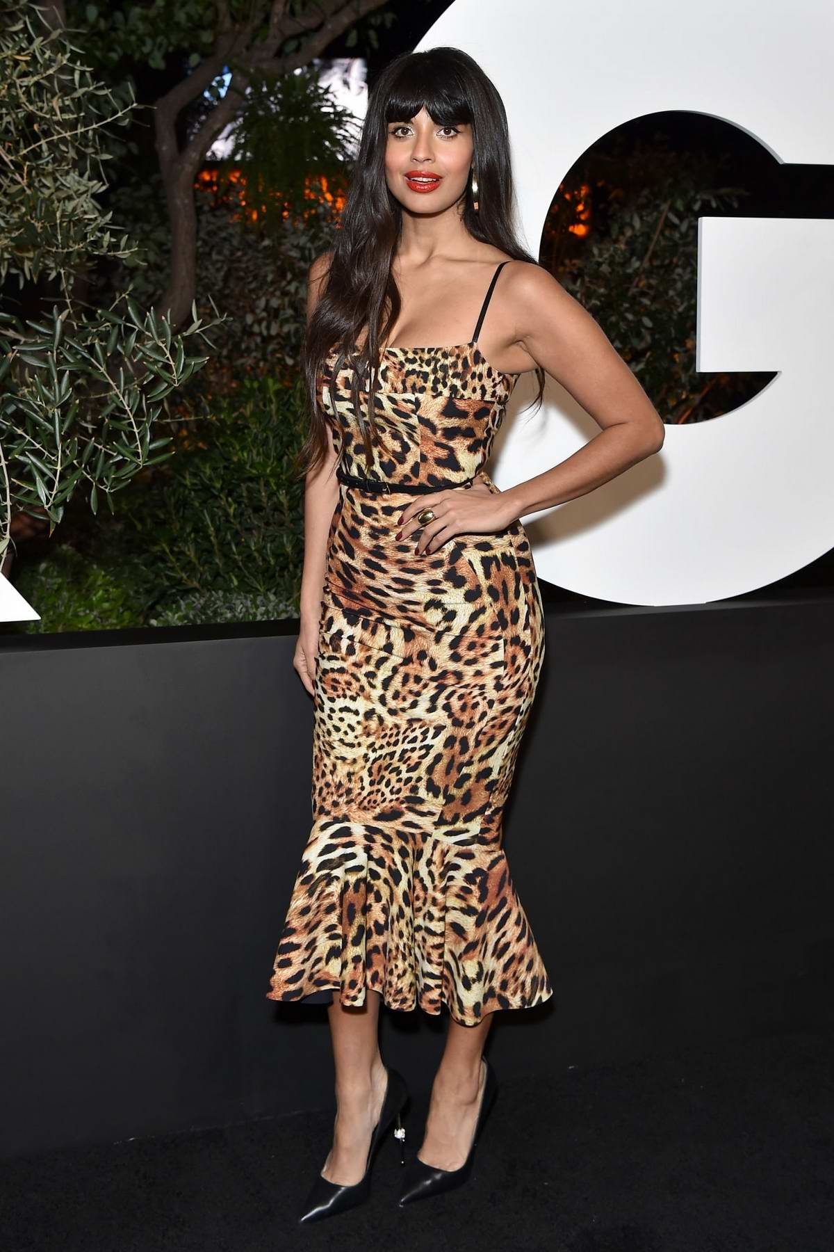 Jameela Jamil attends the 2019 GQ Men of the Year at The West Hollywood Edition in West Hollywood, Los Angeles