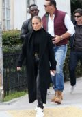 Jennifer Lopez and Alex Rodriguez step out for real estate shopping on Sunday morning in Hollywood, California