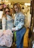 Jennifer Lopez takes her kids for some shopping in Beverly Hills, California