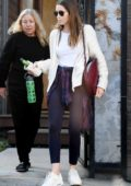 Jessica Biel spotted as she leaves a friend's house in Los Angeles