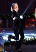 Julianne Hough performs at the 87th Annual Rockefeller Center Christmas Tree Lighting Ceremony in New York City