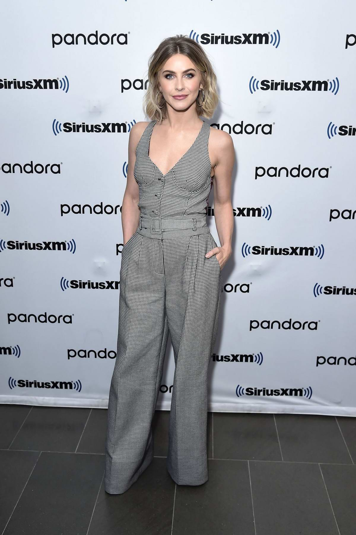 Julianne Hough visits SiriusXM Studios in New York City