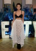 Kaia Gerber attends the Fenty party at Laylow in London, UK