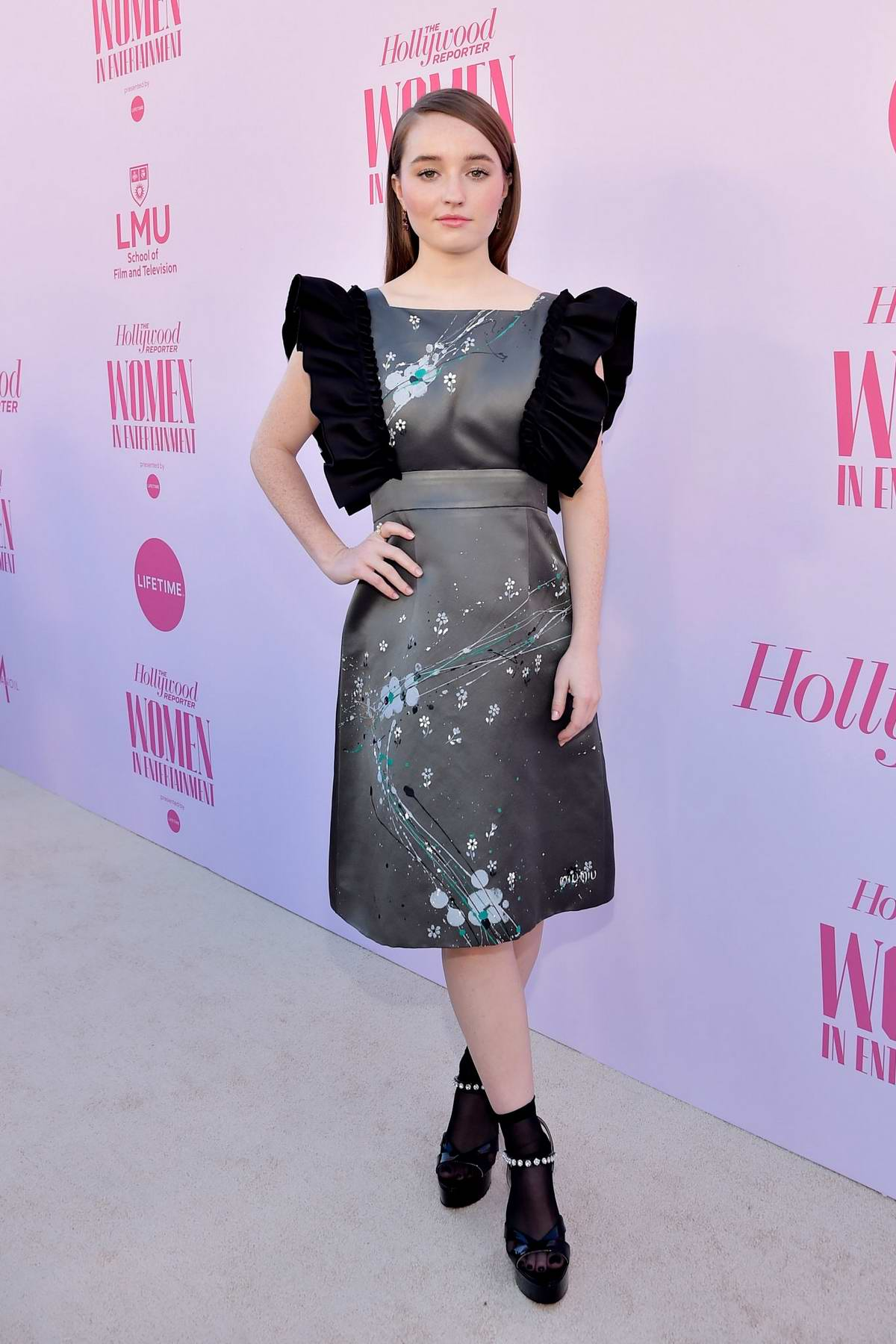 Kaitlyn Dever attends The Hollywood Reporter's Power 100 Women in Entertainment in Hollywood, California