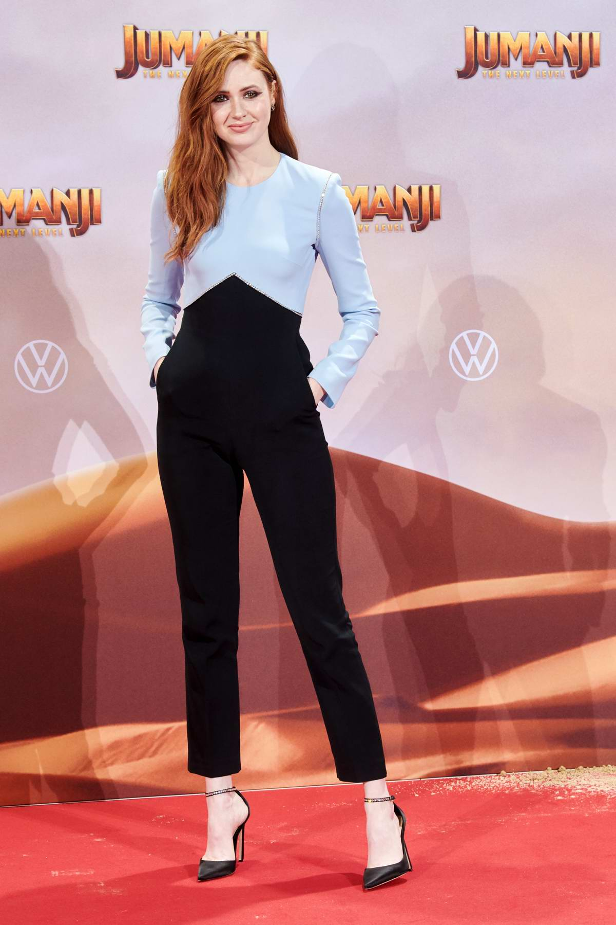 Karen Gillan attends the Premiere of 'Jumanji: The Next Level' in Berlin, Germany