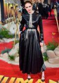 Karen Gillan attends the Premiere of 'Jumanji: The Next Level' in London, UK
