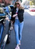 Kate Upton looks gorgeous leaving a hair salon in Beverly Hills, California