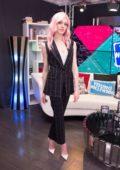 Katherine McNamara visits Young Hollywood Studio in Los Angeles