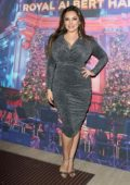 Kelly Brook attends Emma Bunton's Christmas Party at Royal Albert Hall in London, UK