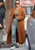 Kim Kardashian does some solo last-minute Christmas shopping in Woodland Hills, California