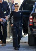 Kourtney Kardashian arrives at a charity event in Long Beach, California