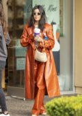 Kourtney Kardashian takes the kids to paint pottery at Color Me Mine in Calabasas, California