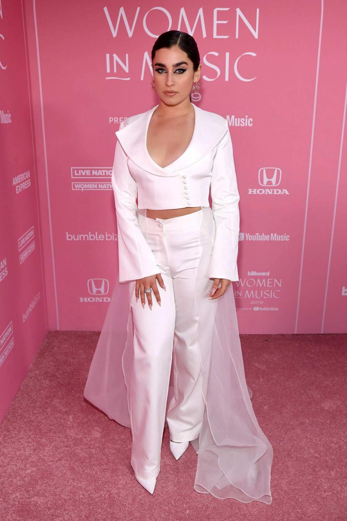 Lauren Jauregui attends the 2019 Billboard Women in Music at Hollywood Palladium in Los Angeles