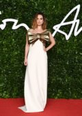 Lily James attends The Fashion Awards 2019 held at Royal Albert Hall in London, UK