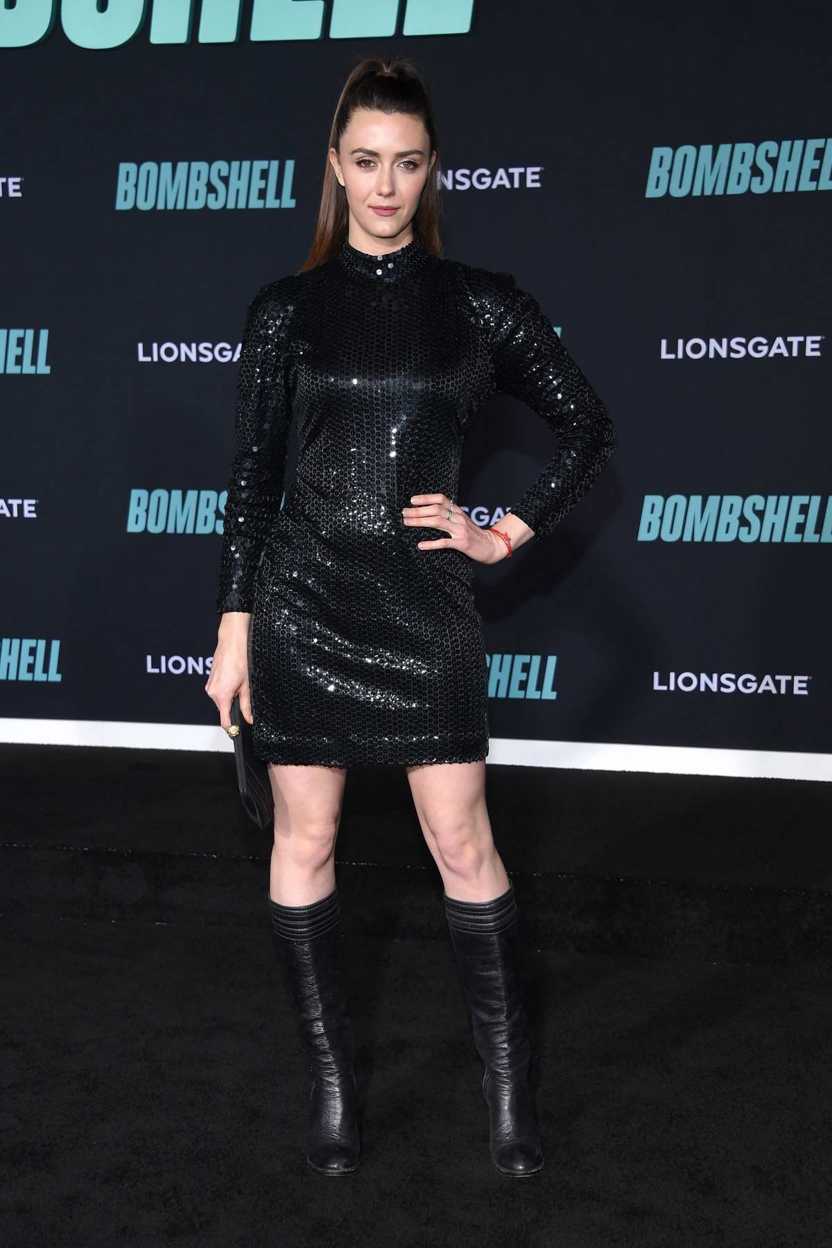 Madeline Zima attends a special screening of Bombshell in Westwood, California