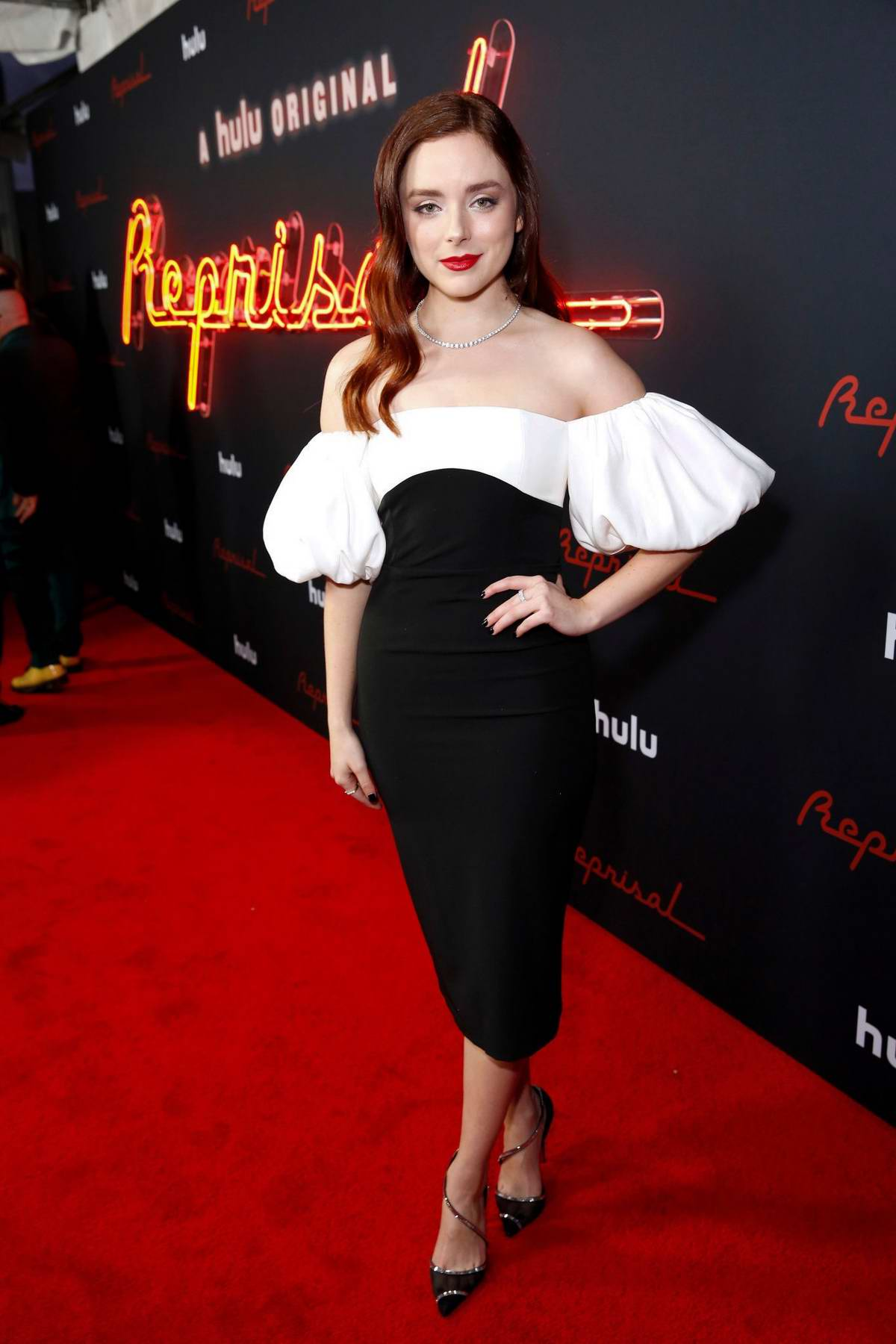 Madison Davenport attends Hulu's 'Reprisal' Season One premiere in Los Angeles