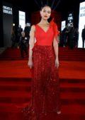 Nathalie Emmanuel The Fashion Awards 2019 held at Royal Albert Hall in London, UK