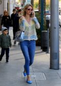 Nicky Hilton does some last minute Christmas shopping in Beverly Hills, California