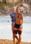 Nicole Kidman hits the beach for a morning swim with Keith Urban in Sydney, Australia