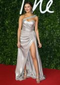 Niomi Smart attends The Fashion Awards 2019 held at Royal Albert Hall in London, UK
