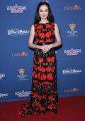 Olivia Sanabia attends 'A Snow White Christmas' Opening Night Event at Pasadena Civic Auditorium in Pasadena, California