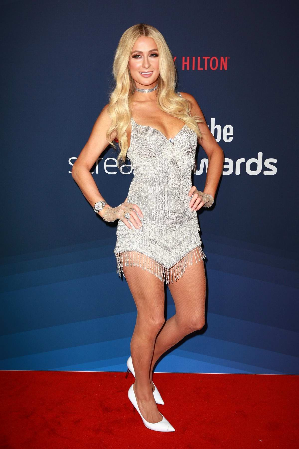 Paris Hilton attends the 9th Annual Streamy Awards, Beverly Hills, California