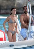 Pippa Middleton and husband James Matthews have a swim and boat ride in St Barts, France