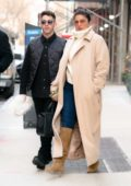 Priyanka Chopra and Nick Jonas grabs lunch at The Well in New York City