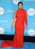 Priyanka Chopra attends the 15th Annual UNICEF Snowflake Ball in New York City