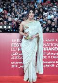 Priyanka Chopra attends the Tribute to Australian Cinema at the Jemaa El-Fnaa square in Marrakesh, Morocco