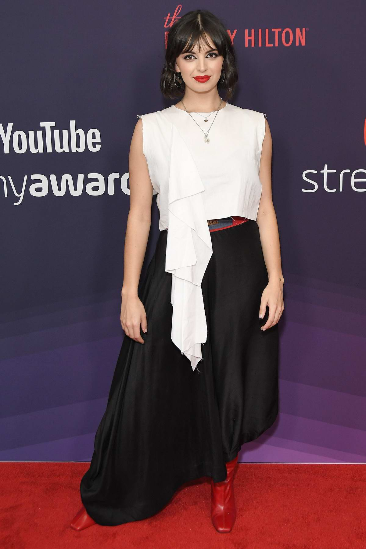 Rebecca Black attends the 9th Annual Streamy Awards in Beverly Hills, California