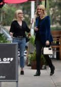 Reese Witherspoon meets up with Laura Dern for a day of shopping in Brentwood, California
