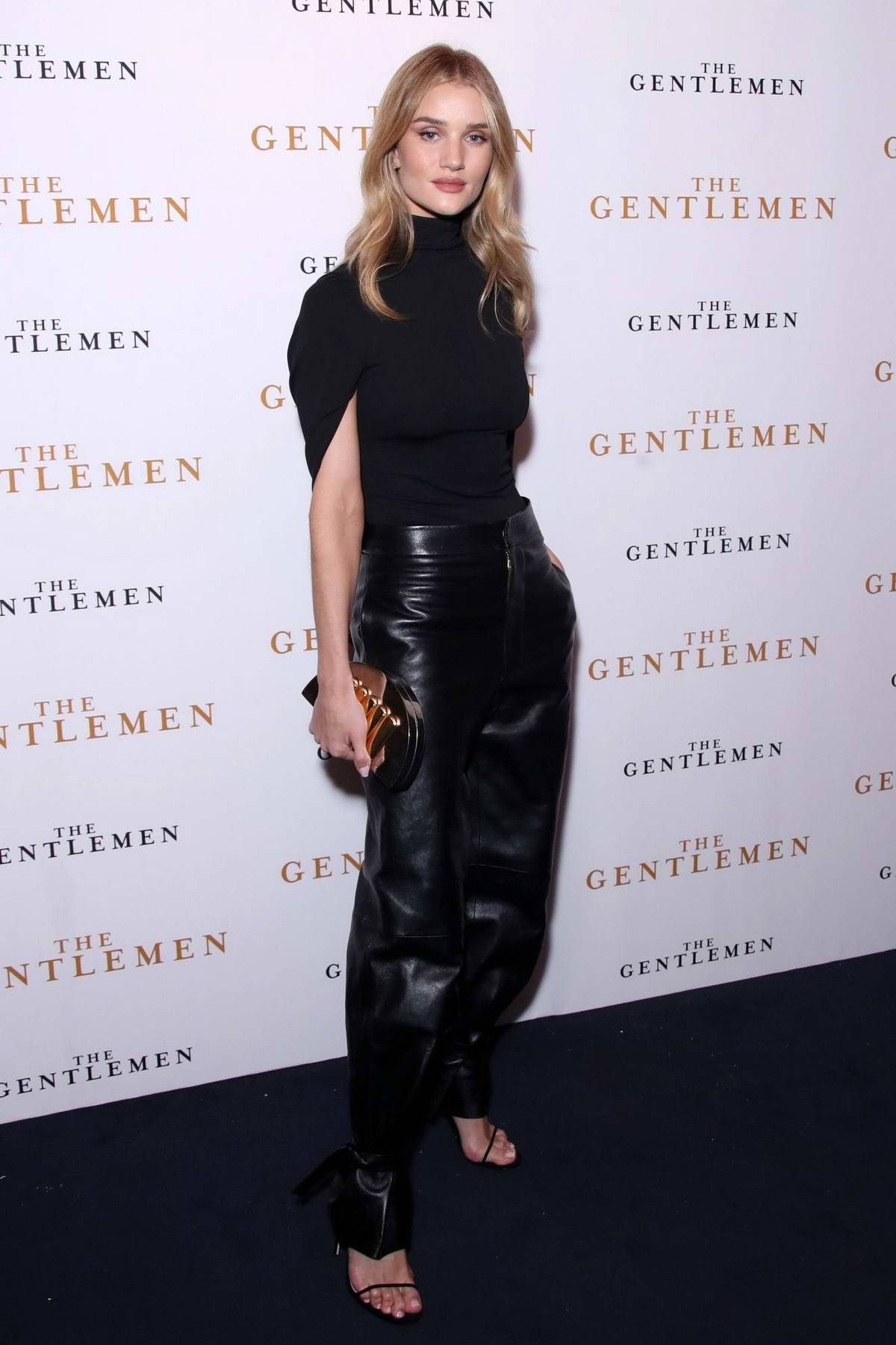 Rosie Huntington-Whiteley attends 'The Gentleman' Special Screening in London, UK