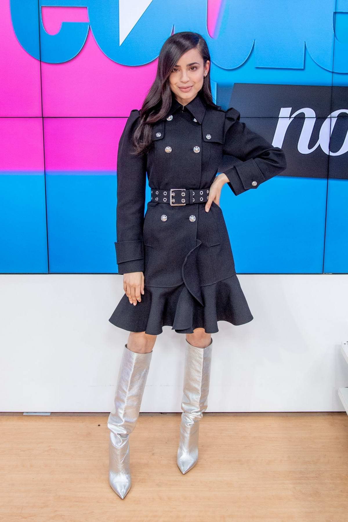 Sofia Carson visits 'People Now' in New York City
