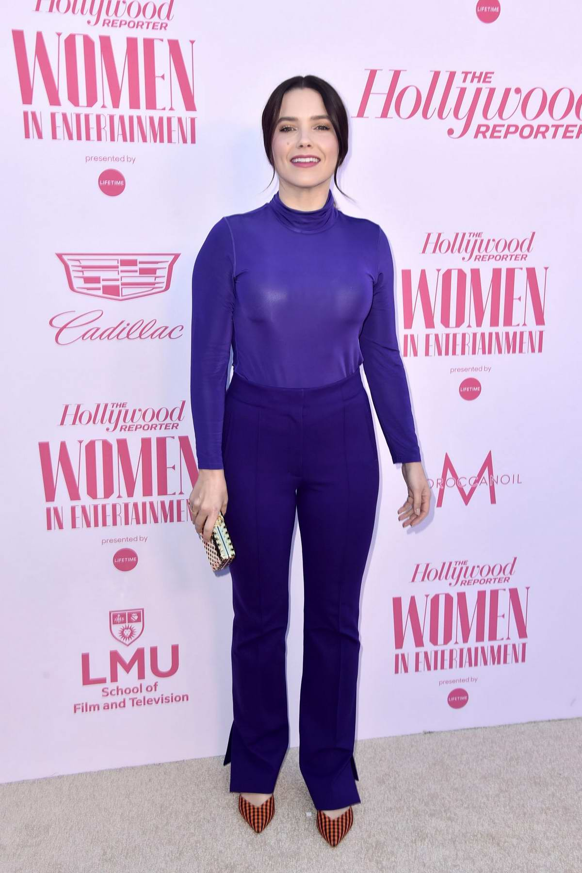 Sophia Bush attends The Hollywood Reporter's Power 100 Women in Entertainment in Hollywood, California