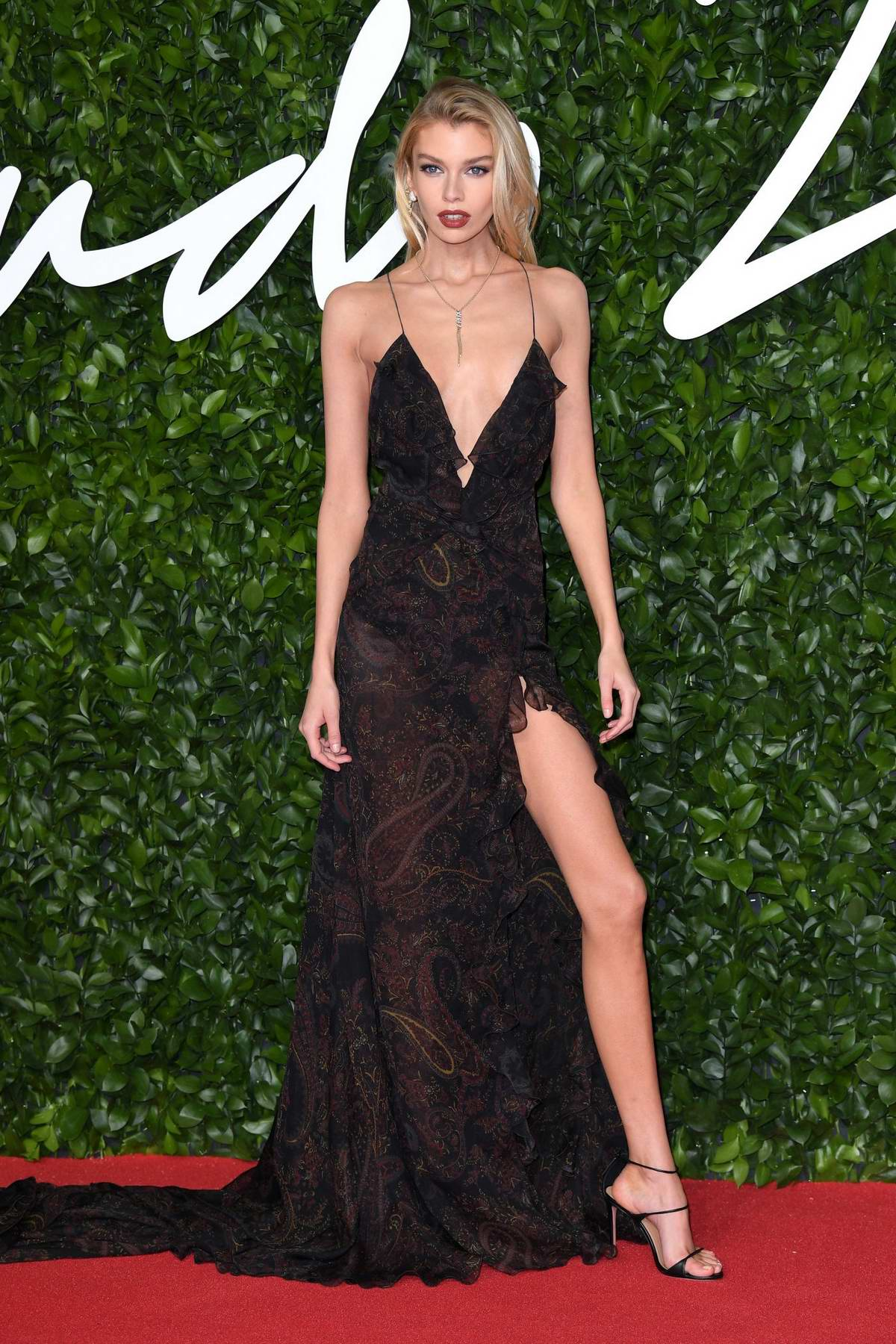 Stella Maxwell attends The Fashion Awards 2019 held at Royal Albert Hall in London, UK